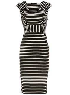 This is the dress I wanted from Dorothy Perkins. I ordered it in my size, converting for UK sizing. They sent it 4 sizes too large, so I had to pay @ $18 to return something when the error was theirs. Now they're out of stock in my size. And thus far, they have not responded to any of my e-mail correspondence. And the pity of it is, it's a great dress.