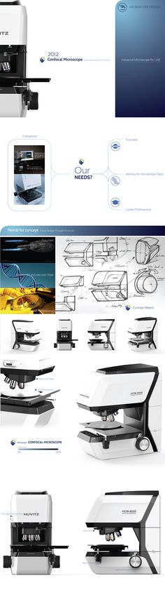 Microscope Design_2012 on Behance