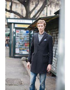 Off-Duty Model Street Looks at Menswear Week   Vogue Paris