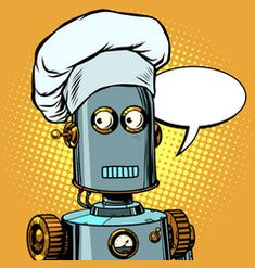 Robot cook food takes orders at restaurant vector Free Vector Images, Vector Free, Brunette Woman, Abstract Photos, Retro Vector, No Cook Meals, Pop Art, Royalty Free Stock Photos, Restaurant
