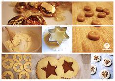 vous connaissez les biscuits au cœur caramel croquant? non? alors la c'est l'occasion, vous m'en direz des nouvelles!