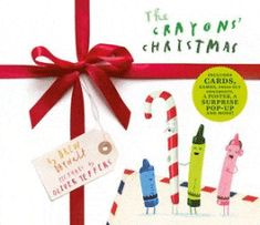 Oliver Jeffers, Christmas Books For Kids, Christmas Fun, Christmas Cover, Christmas Countdown, New York Times, Carta Real, Drew Daywalt, Crayon Book