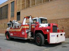 Fire truck wrecker