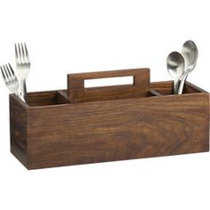 1000 images about silverware caddy on pinterest for Vertical silverware organizer