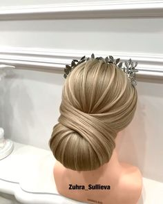 Amazing😍😍 By: Amazing😍😍 By: Quick Braided Hairstyles, Bride Hairstyles, Straight Brunette Hair, Hair Up Styles, Ponytail Hair Extensions, Hair Videos, Hair Looks, Bridal Hair, Hair Beauty