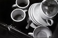Image result for dirty dishes b&w