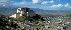 The Potala Palace - winter palace and childhood home of HH The Dalai Lama, Lhasa, #Tibet