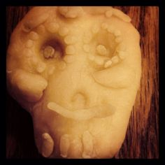 Another dough sugar skull entry. #DayOfTheDough