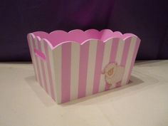 Baby Bedroom, Ideas Para, Decoupage, Shabby Chic, Mary, Basket, Country, Crochet, Painted Wooden Boxes