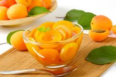 Buy Compote made of halved apricots in light syrup by Vikif on PhotoDune. Compote made of halved apricots in light syrup Tolle Desserts, Fruit Preserves, Eat Smarter, Marmalade, Greek Recipes, Sweet Life, Syrup, Cantaloupe, Sweets