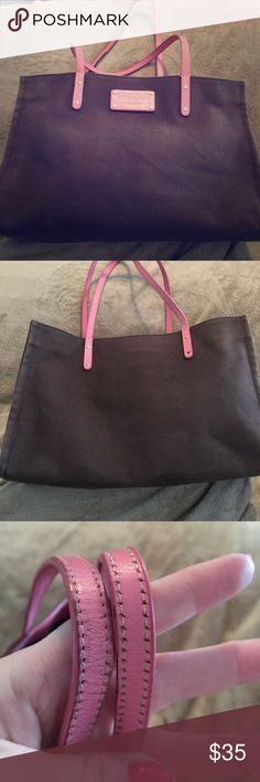 Kate Spade tote Very well loved, fading and wear on straps all seen in pics kate spade Bags Totes