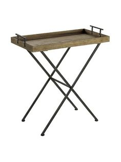 Cooper Classics Wynne Tray Table, Natural