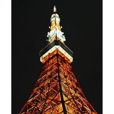 Instagram【fleurdemay27】さんの写真をピンしています。 《この色のライトアップが一番好き… * #東京タワー #ライトアップ #夜景 #綺麗 #東京 #tokyo #japan #tokyotower #東京散歩 #写真好きな人と繋がりたい #カメラ女子 #canon #eos #ミラーレス  #instagood #instagramjapan  #ig_japan #tokyocameraclub #team_jp_ #japan_of_insta》