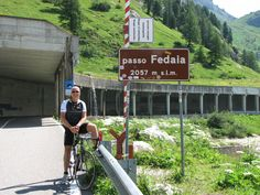 Passo Fedaia from Canazei - good for recovery