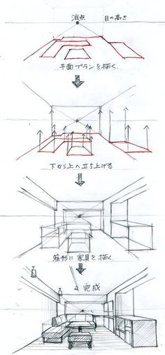 Best Picture For Architecture perspective house For Your Ta. Drawing Lessons, Drawing Techniques, Drawing Tips, Drawing Reference, Drawing Drawing, Drawing Sketches, Art Lessons, Drawing Ideas, Drawing Interior