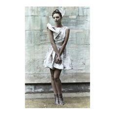 Kelly Ewing Cream and Floral Suki Dress