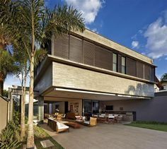 Very well designed contemporary residence in Belo Horizonte, Brazil.