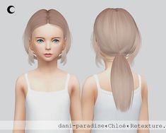 Kalewa-a: Chloe Child hair retextured  - Sims 4 Hairs - http://sims4hairs.com/kalewa-a-chloe-child-hair-retextured/