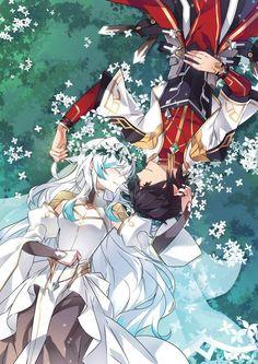 Elsword Solace and El Lady Anime Comics, Elsword Game, Animé Fan Art, Manga Couple, Anime Kunst, Anime Scenery, Cute Anime Couples, Anime Art Girl, Anime Style