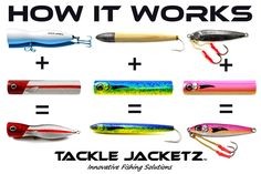 How to apply Tackle Jacketz to your Cedar Plugs, GT Poppers or Vertical jigs. Jacketz will fit on almost any hard bait. www.tacklejacketz.com #floridafishing #saltwaterfishing #luremaking #lurepainting #tacklejacketz #lurerepair
