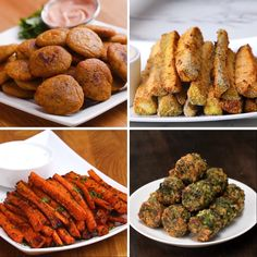 Veggie Snacks 4 Ways #quick #snacks #veggies