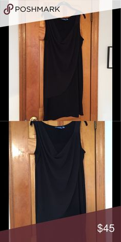 Women's Evening Dress Women's Black Evening Dress. Knee Legnth, color black, size Large. Great condition! Simply Vera Vera Wang Dresses Asymmetrical