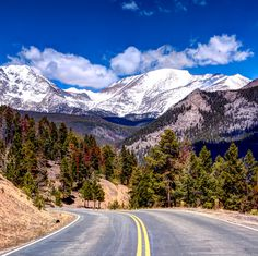 Nothing soothes the mind quicker than a road trip to Rocky Mountain National Park. Open the windows and let your hair blow in the breeze!