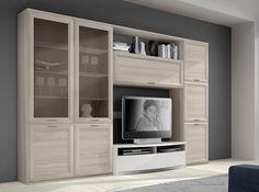 Living Room Tv, Living Room Modern, Tv Cabinet Design, Modern Wall Units, Tv Wall Decor, Modular Walls, Italian Furniture, Home Decor Furniture, Interior Design Living Room