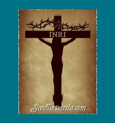 Scroll Saw Patterns :: Holidays :: Easter :: Christ on the cross #3 -