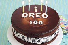 What would be better than a cake that tastes and looks like an OREO Cookie?