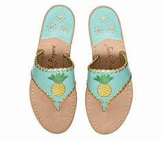 •Just ordered these limited edition Jacks. They are seriously perfect!•   Exclusive Pineapple Jacks - Jack Rogers USA