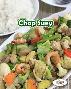 Chopsuey Recipe is a popular Filipino-Chinese vegetable dish primarily made up of mixed vegetable with chicken, beef, and shrimp for extra flavor. Shrimp And Vegetables, Chinese Vegetables, Mixed Vegetables, Filipino Vegetable Recipes, Filipino Recipes, Pinoy Recipe, Filipino Dishes, Filipino Food, Kitchens