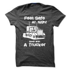 (Tshirt Discount) Sleep with a trucker [Tshirt Sunfrog] Hoodies Tee Shirts