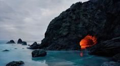 Kevin Cooley - Matador Cave   From a unique collection of color photography at http://www.1stdibs.com/art/photography/color-photography/