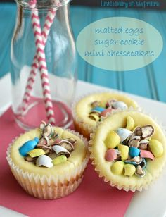 Easter Malted Eggs Cheesecake!  Little Dairy on the Prairie