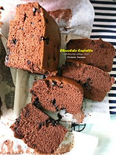 Chocolate Castella Cake