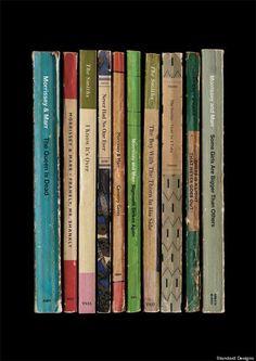 The Smiths Album as a vintage book collection!
