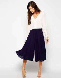 inspiration for the Liesl + Co Girl Friday Culottes sewing pattern