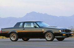 Buick Grand National. Pretty rare car.
