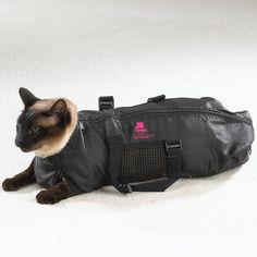 Heavy Duty Mesh Cat Grooming Bathing Restraint Bag - 3 Sizes and Vet Sets Too