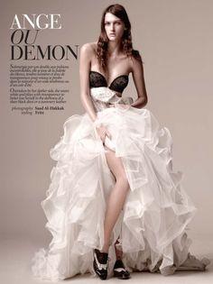 tulle dress, fashion, volume