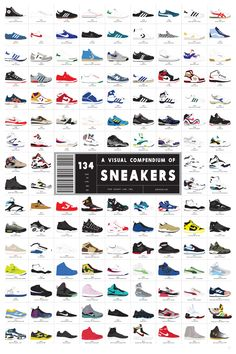 DESCRIPTION A meticulously illustrated collection of the 134 greatest sneakers in human history, starting with the Chuck Taylor way back in 1917, progressing through the styling low-tops of the 60s an