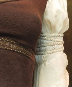 Eowyn shield maiden costume in detail