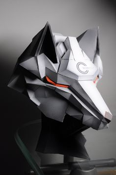 What if they made a wolf helmite for a motorcycle like this