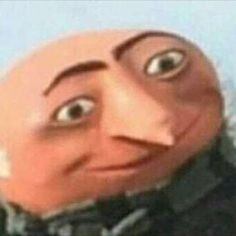 I AM GRU sorry the crackhead energy Stupid Funny Memes, Funny Relatable Memes, Haha Funny, Funny Cartoon Memes, Reaction Pictures, Funny Pictures, Funny Profile Pictures, Dog Pictures, Sapo Meme