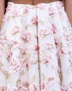 Romantic Winter Roses | Christian Dior Fall Winter 2012 Haute Couture Fashion More Flower & Roses. July 28th, 2012.