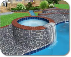Landscape Design Software Adding A Swimming Pool Free Pool Design Software  519x416