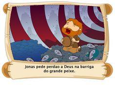 Jonas era um homem de Deus que viveu muito tempo atrás.   Deus disse para Jonas que ele fosse até uma cidade chamada Nínive, para orar p...