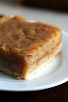 Caramel Apple Shortbread Bars