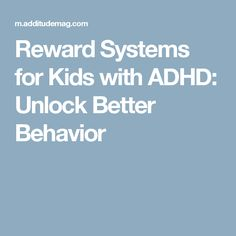 Reward Systems for Kids with ADHD: Unlock Better Behavior